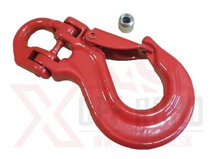 Obrázok pre výrobcu Hák oceľ červený malý